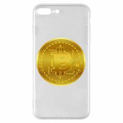 Чохол для iPhone 8 Plus Bitcoin coin