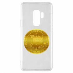 Чохол для Samsung S9+ Bitcoin coin