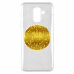 Чохол для Samsung A6+ 2018 Bitcoin coin