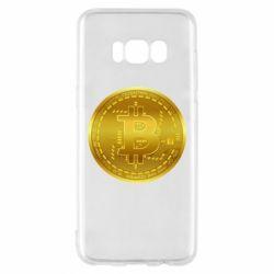 Чохол для Samsung S8 Bitcoin coin