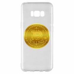 Чохол для Samsung S8+ Bitcoin coin
