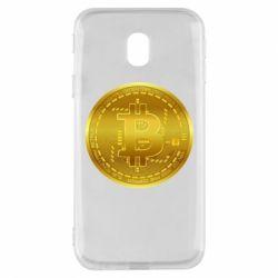 Чохол для Samsung J3 2017 Bitcoin coin