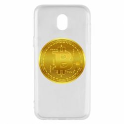 Чохол для Samsung J5 2017 Bitcoin coin