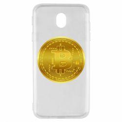 Чохол для Samsung J7 2017 Bitcoin coin