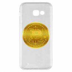 Чохол для Samsung A5 2017 Bitcoin coin