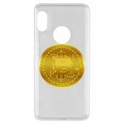 Чохол для Xiaomi Redmi Note 5 Bitcoin coin