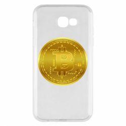Чохол для Samsung A7 2017 Bitcoin coin