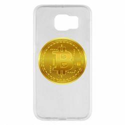 Чохол для Samsung S6 Bitcoin coin