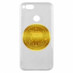 Чохол для Xiaomi Mi A1 Bitcoin coin