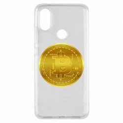 Чохол для Xiaomi Mi A2 Bitcoin coin