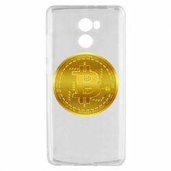Чохол для Xiaomi Redmi 4 Bitcoin coin