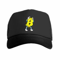 Кепка-тракер Bitcoin contrast