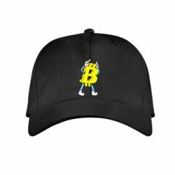 Купить Детская кепка Bitcoin contrast, FatLine