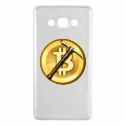 Чохол для Samsung A7 2015 Bitcoin Hammer