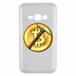 Чохол для Samsung J1 2016 Bitcoin Hammer