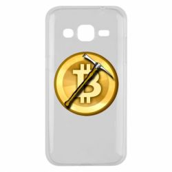 Чохол для Samsung J2 2015 Bitcoin Hammer