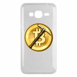 Чохол для Samsung J3 2016 Bitcoin Hammer