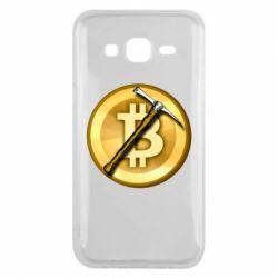Чохол для Samsung J5 2015 Bitcoin Hammer