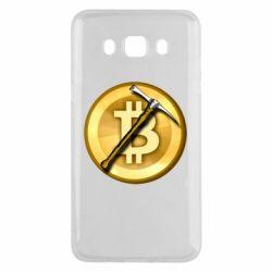 Чохол для Samsung J5 2016 Bitcoin Hammer