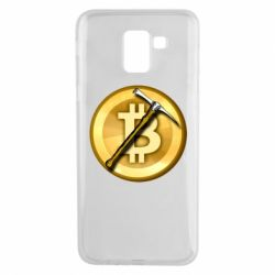 Чохол для Samsung J6 Bitcoin Hammer
