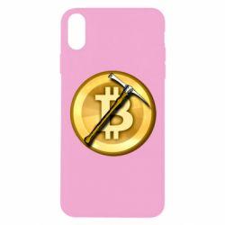 Чохол для iPhone X/Xs Bitcoin Hammer