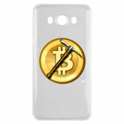 Чохол для Samsung J7 2016 Bitcoin Hammer