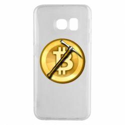 Чохол для Samsung S6 EDGE Bitcoin Hammer