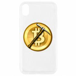 Чохол для iPhone XR Bitcoin Hammer