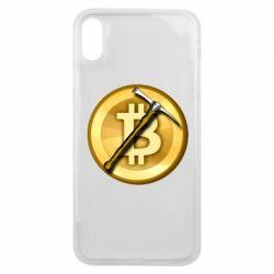 Чохол для iPhone Xs Max Bitcoin Hammer