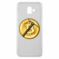 Чохол для Samsung J6 Plus 2018 Bitcoin Hammer