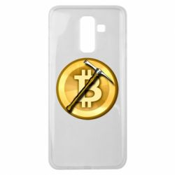 Чохол для Samsung J8 2018 Bitcoin Hammer