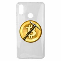 Чохол для Xiaomi Mi Max 3 Bitcoin Hammer