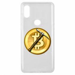Чохол для Xiaomi Mi Mix 3 Bitcoin Hammer