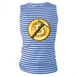Майка-тільняшка Bitcoin Hammer