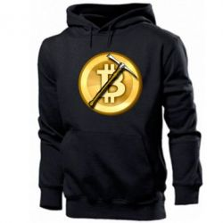 Чоловіча толстовка Bitcoin Hammer