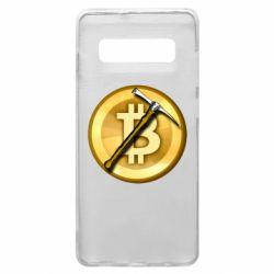 Чохол для Samsung S10+ Bitcoin Hammer