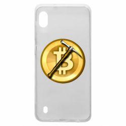 Чохол для Samsung A10 Bitcoin Hammer