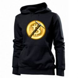 Толстовка жіноча Bitcoin Hammer