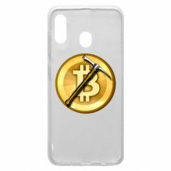 Чохол для Samsung A20 Bitcoin Hammer