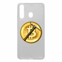 Чохол для Samsung A60 Bitcoin Hammer