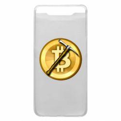 Чохол для Samsung A80 Bitcoin Hammer