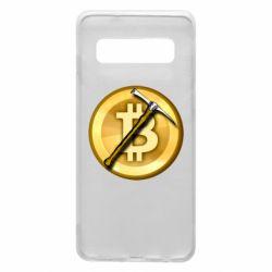 Чохол для Samsung S10 Bitcoin Hammer