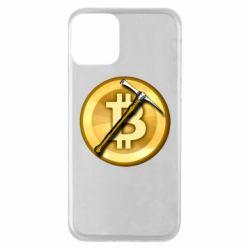 Чохол для iPhone 11 Bitcoin Hammer
