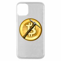 Чохол для iPhone 11 Pro Bitcoin Hammer
