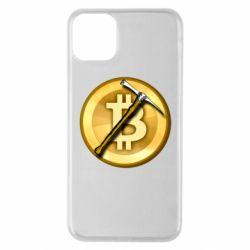 Чохол для iPhone 11 Pro Max Bitcoin Hammer
