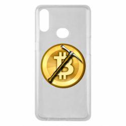 Чохол для Samsung A10s Bitcoin Hammer