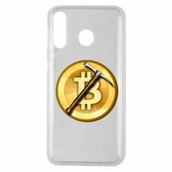 Чохол для Samsung M30 Bitcoin Hammer