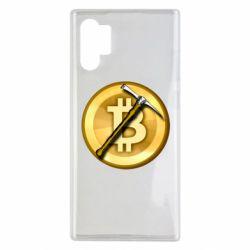 Чохол для Samsung Note 10 Plus Bitcoin Hammer