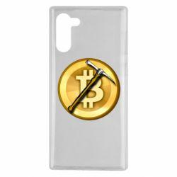 Чохол для Samsung Note 10 Bitcoin Hammer