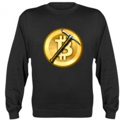 Реглан (світшот) Bitcoin Hammer